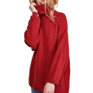 NWT Free People Softly Structured Tunic Brick